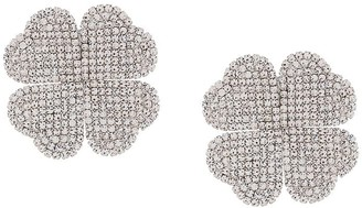 Alessandra Rich Floral Clip-On Earrings