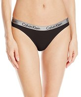 Calvin Klein Women's Radiant Cotton Thong Panty