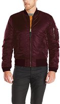 Alpha Industries Men's Ma-­-1 Slim Fit Bomber Flight Jacket