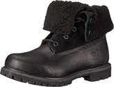 Timberland Women's Teddy Fleece Fold-Down Waterproof Boot