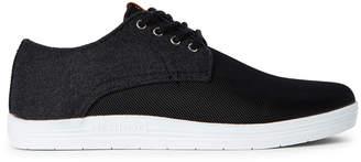 Ben Sherman Black Preston Low-Top Sneakers