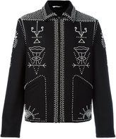 Valentino embellished shirt jacket