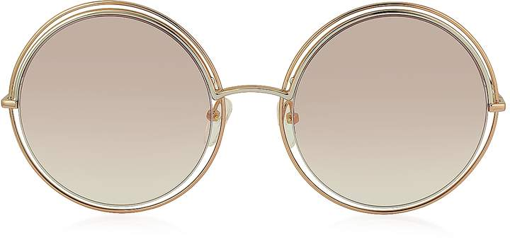 Marc Jacobs MARC 11/S Metal & Acetate Round Oversized Women's Sunglasses