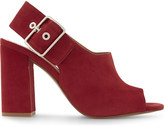 Claudie Pierlot Audrey suede heeled sandals