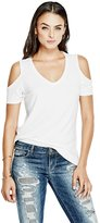 GUESS Cold-Shoulder Tunic Tee