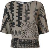 Zero Maria Cornejo 'Vero Blanket' blouse