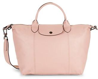 Longchamp Le Pliage Leather Shoulder Bag
