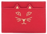 Charlotte Olympia Feline Leather Card Holder