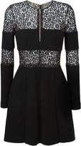Alexander McQueen lace band mini dress