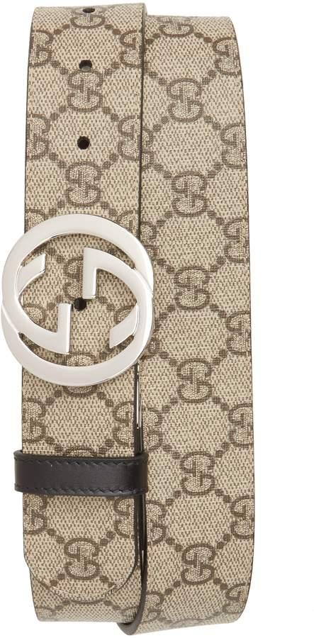 Gucci Reversible Logo Interlocking Belt