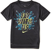 Nike Little Boys 4-7 Fly With Us Short-Sleeve Graphic Tee