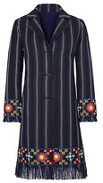 Tory Burch Luna Embellished Coat