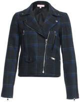 Renamed Clothing Plaid Motto Jacket