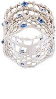 Aurelie Bidermann 'Vintage Lace' sapphire ring