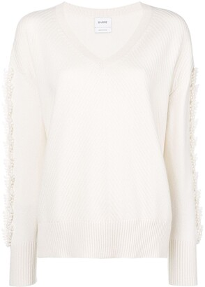 Barrie Troisieme Dimension cashmere V-neck pullover