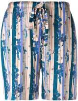 La Perla floral print shorts