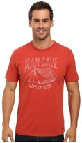 Life is Good Man Cave Tent Crusher Tee