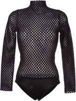 Opening Ceremony open knit body - women - Nylon/Polyester/Spandex/Elastane/Merino - M