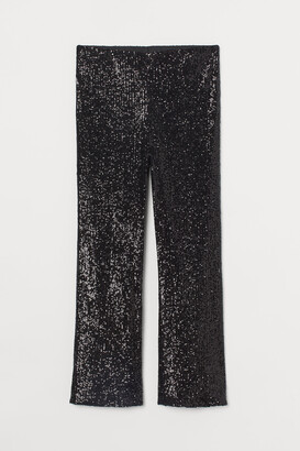 H&M H&M+ Sequined trousers