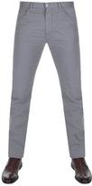 Giorgio Armani Jeans J45 Slim Fit Trousers Grey