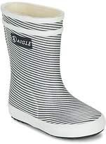 Sale - Baby Flac Kid Striped Rainboots - Aigle Aigle Qp6i5VaT