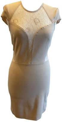 Patrizia Pepe Beige Lace Dress for Women