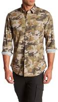 Slate & Stone Camouflage Print Regular Fit Shirt
