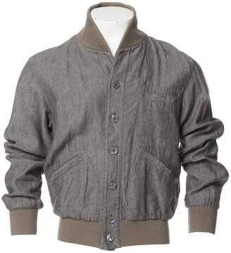 Saint Laurent Grey Linen Jackets