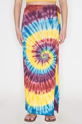 Bear Dance Tie-Dye Maxi Skirt