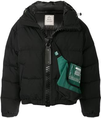 Puma Maison Yasuhiro crossbody bag puffer jacket