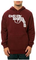 Crooks & Castles Mens The Snub Text Hoodie Sweatshirt Xl