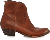 Golden Goose Deluxe Brand Young Western distressed-leather ankle boots