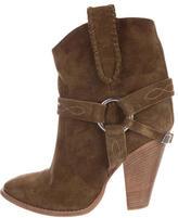 Etoile Isabel Marant Rawson Pointed-Toe Ankle Boots