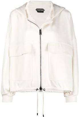 Tom Ford Oversize Hooded Jacket
