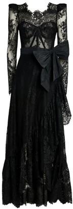ZUHAIR MURAD Lace Vreeland Gown