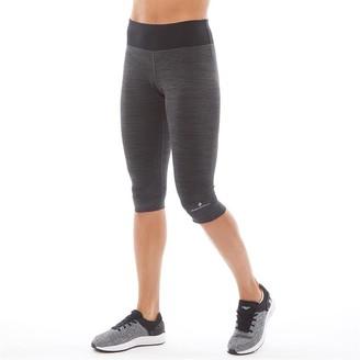 Ronhill Ron Hill Womens Momentum Victory Running Capri Leggings Charcoal Marl