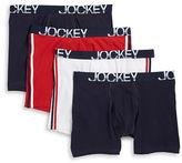 Jockey 4-Pack Midway Briefs