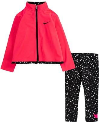Nike Toddler Girl Zip Jacket and Leggings Set