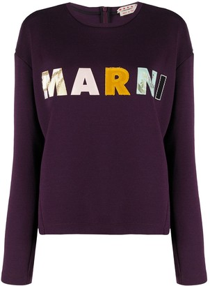 Marni Logo Patch Sweatshirt