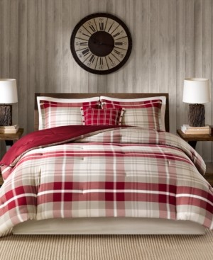 Woolrich Sheridan 5-Pc. King Oversized Comforter Set Bedding