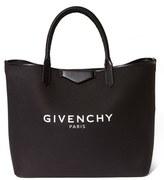 Givenchy 'Large Antigona' Canvas Shopper