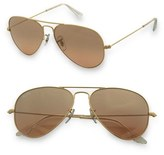 'Original Aviator' 58mm Sunglasses