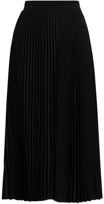 Co Elastic-Waist Pleated Skirt
