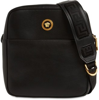 Versace Leather Crossbody Bag