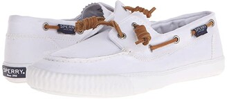 Sperry Sayel Away Washed (White) Women's Moccasin Shoes