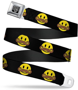 Buckle Down Buckle-Down Unisex-Adult's Seatbelt Belt XL