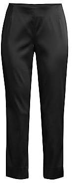 Lafayette 148 New York Women's Belle Satin Cloth Stanton Pants