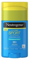 Neutrogena CoolDry Sport Sunscreen Stick Broad Spectrum SPF 50 - 1.7 Oz