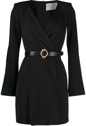 Elisabetta Franchi draped mini dress