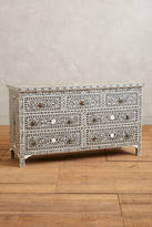 Anthropologie Bone Inlay Three-Drawer Dresser